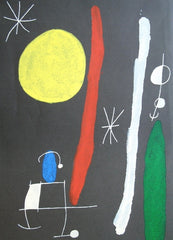 Joan Miro - Derriere Le Miroir: Untitled (1967)