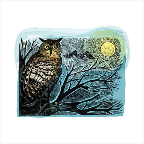 Angela Harding - Owl And Moon