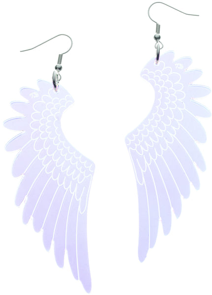 Pegasus Drop Earrings - Iridescent