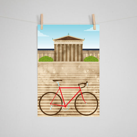 Eleanor Grosch - Philadephia Bikes: Art Museum