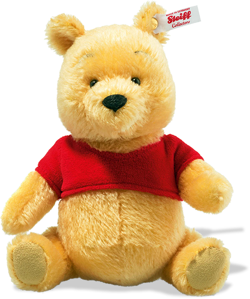 Steiff Disney: Winnie The Pooh: 683411 Size 22cm Tall Limited Edition of 2000