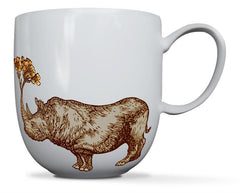 Puddin' Head - Animaux Collection: Rhino Mug