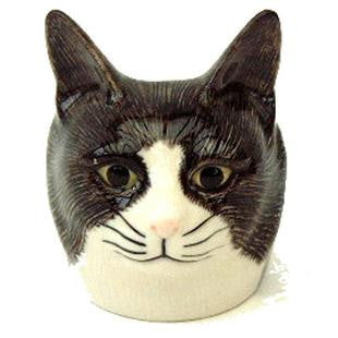 Quail - Cat Face Egg Cup: Oliver