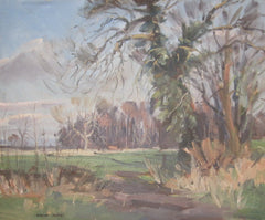 Angus Rands - December Sunshine, Near Staveley, North Yorkshire.