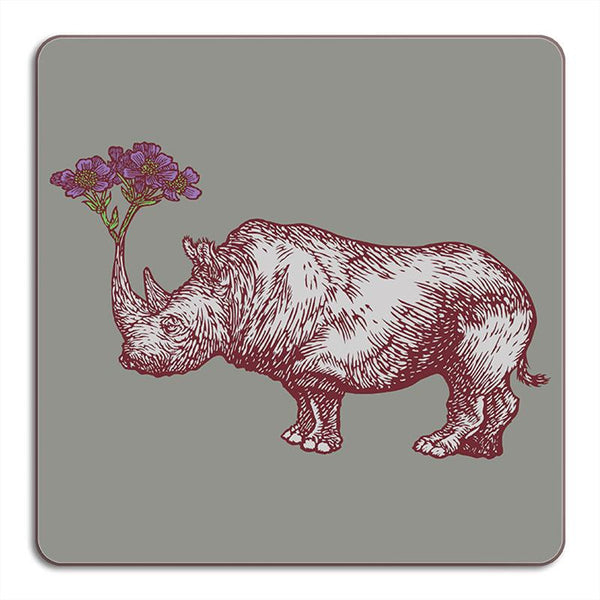 Animaux Collection: Rhino Placemat
