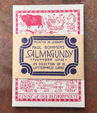 Salmagundy Number One: An Eclection of 12 Letterpress Cards, designed by Paul Bommer