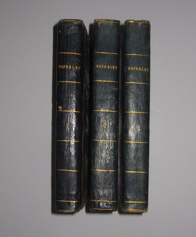 Sir Walter Scott - Waverley Or 'Tis Sixty Years Since In Three Volumes: First Edition
