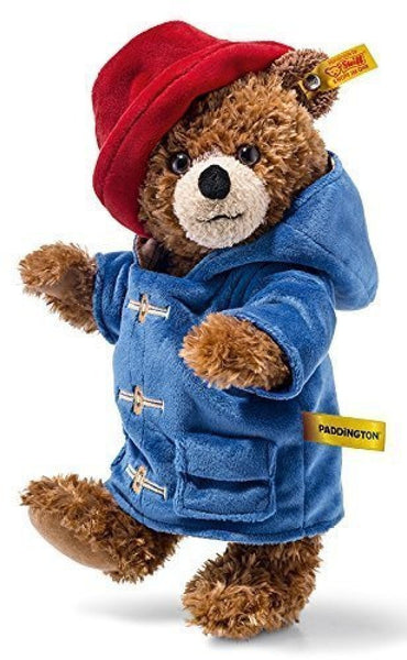 Steiff Plush Paddington Bear 690204: 28cm