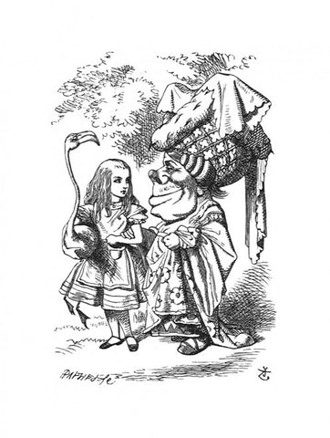 Sir John Tenniel for Lewis Carroll - 'Tut, tut, child!' said the Duchess.'