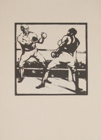 William Nicholson - An Almanac Of Twelve Sports: November: Boxing