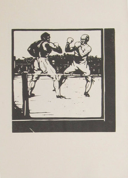 An Almanac Of Twelve Sports: November: Boxing (Unused Version)