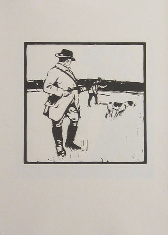 William Nicholson - An Almanac Of Twelve Sports: September: Shooting
