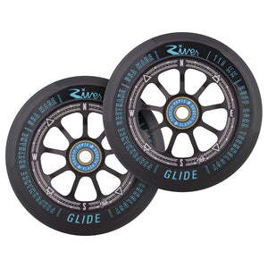 "River Wheel Co. ""Runaway"" Glides Kevin Austin Signature 110mm wheels (pair)"