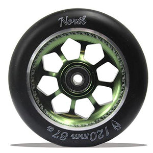 North Scooters Pentagon 120mm Wheels (pair)