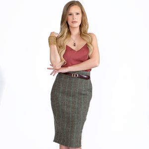 Saavy Sabina - Pocket Pencil Skirt