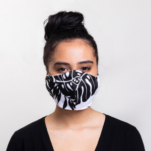 Palm Woven Cotton Washable Mask