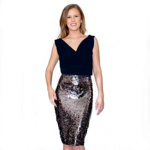 Sequin Pencil Skirt best
