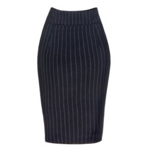 Classic Charlotte - The Navy Pinstripe Pencil