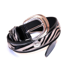 Italian bag, Leather tote women, Leather ladies Clutch, Italian dress shoes women, Stylish open toe boots, Formal leather sandals, Made in Italy outlet, Crystal belts women, White and black zebra print fur and crystals belt