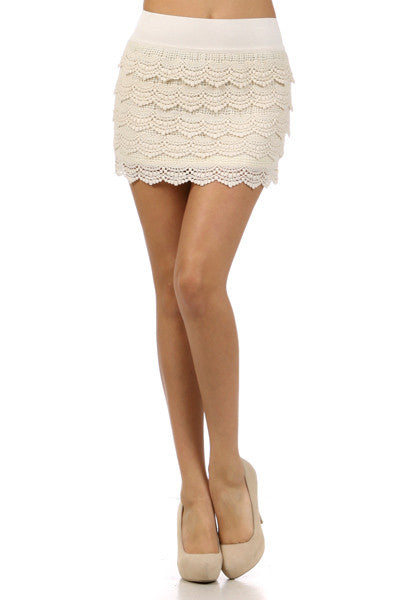 Ora Crochet Skirt