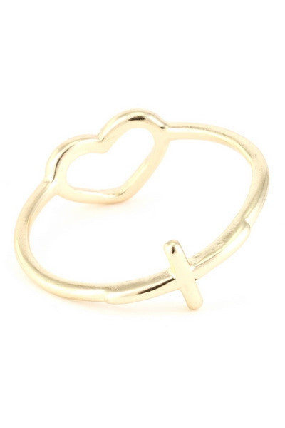 Moraga Open Heart Ring