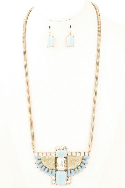 Capello Pendant Necklace & Earrings