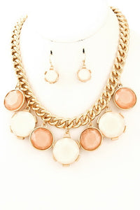 Chantilly Necklace & Earrings