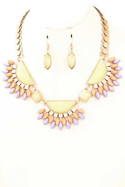 Chalon Necklace & Earrings