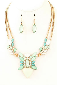 Stradella Necklace & Earrings