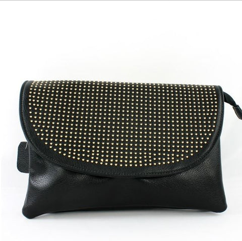 Ramona Clutch in Black