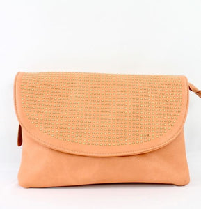 Ramona Clutch in Blush