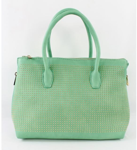 Valdina Satchel Handbag in Mint