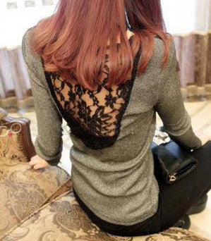 Louise Olive Lace Blouse