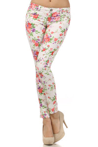 Las Alturas Floral Jeggings