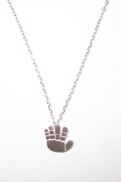 """High Five"" Necklace"