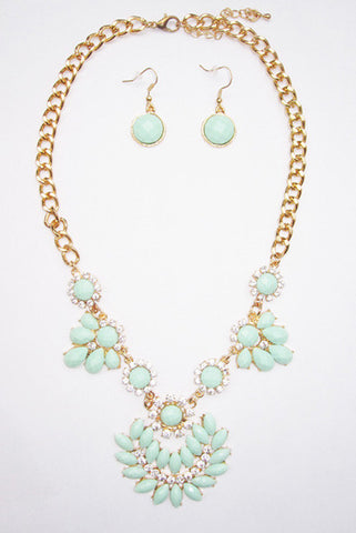 Melrose Necklace & Earrings