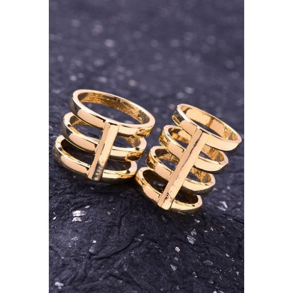 Caleta Gold Ring Set