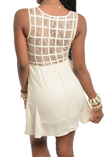 Emporia Lace Back Dress