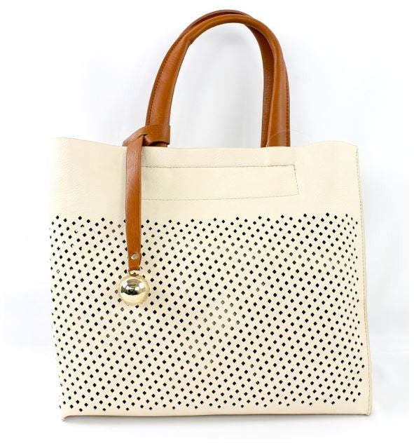 Mariana Tote in White