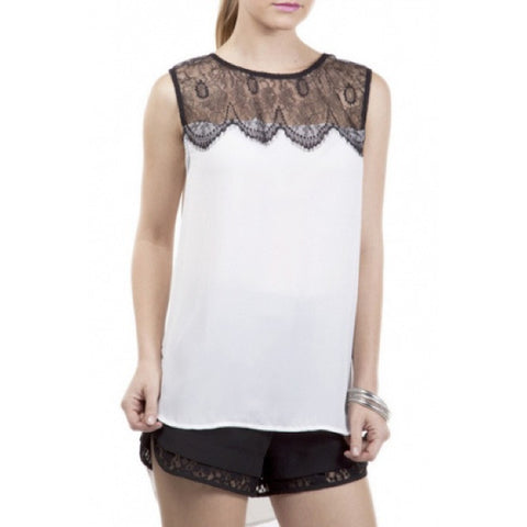 Onteora Lace Detail Blouse