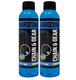 Hardcore Chain & Gear Cleaner, 6 oz Concentrate Refill