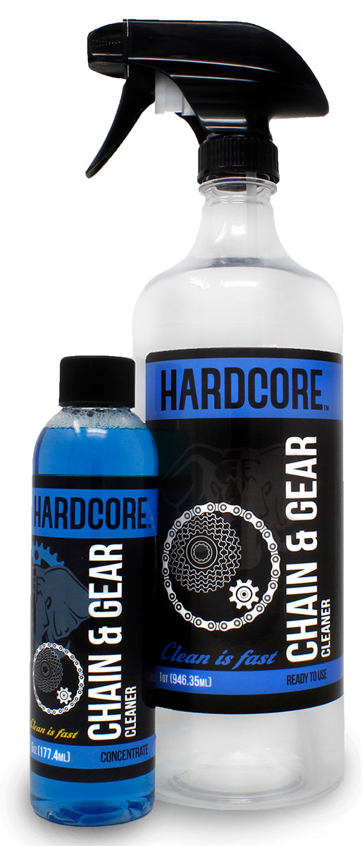 Bike Hardcore Chain & Gear Cleaner Kit Environmentally Friendly