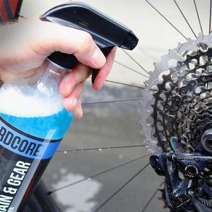 Vegan Cyclist's Trusted Chain & Gear Cleaner Kit, 6 oz Concentrate with Trigger Bottle