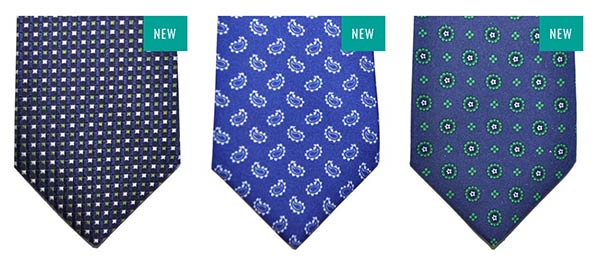 borrelli silk ties fall winter