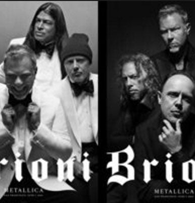 Brioni June 2016 Logo Metallica