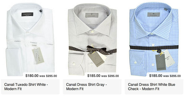 Canali Dress Shirts Sale
