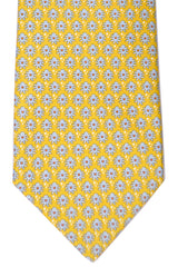 Ferragamo Tie Spring/ Summer 2016 Yellow