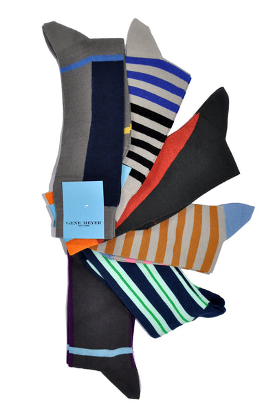 Gene Meyer Clothing Colorful Socks New