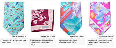 New reductions: Leonard ties and bow ties