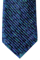 Vitaliano Pancali Pleated Silk Tie
